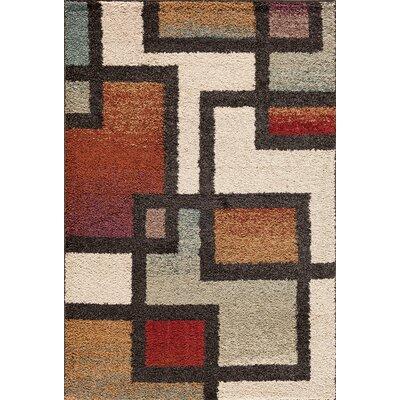 Hamilton Beige Area Rug Rug Size: 5 x 73