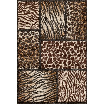 Hamilton Brown Area Rug Rug Size: Rectangle 5 x 73