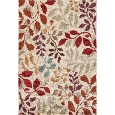 Hamilton Grey/Red Area Rug Rug Size: 5 x 73