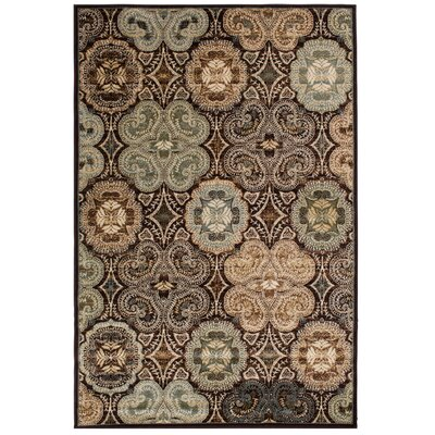 Crawford Dark Wine Area Rug Rug Size: 5 x 76