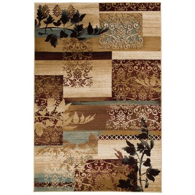 Crawford Brown Area Rug Rug Size: 5 x 76