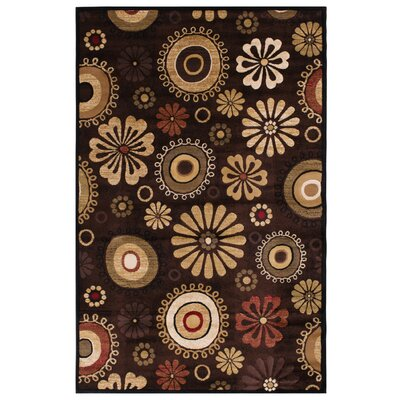 Clarkson Brown Area Rug Rug Size: 5 x 76