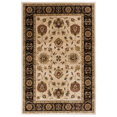 Clarkson Wheat/Brown Area Rug Rug Size: 710 x 910