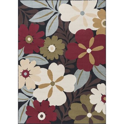 Strope Brown Area Rug Rug Size: Rectangle 5 x 7