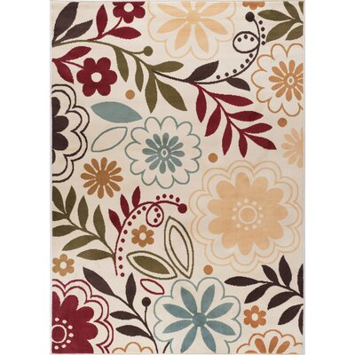 Ulster Beige Area Rug Rug Size: Rectangle 5 x 7