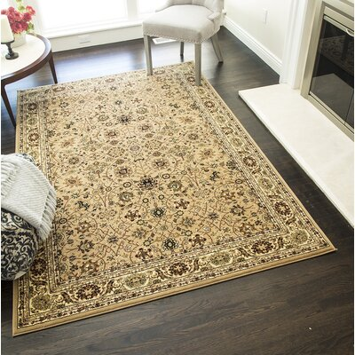 Gloucester Cream Area Rug Rug Size: Rectangle 710 x 1010