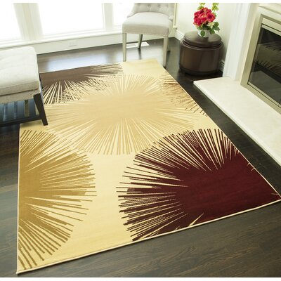 Jordan Cream Area Rug Rug Size: Rectangle 2 x 211