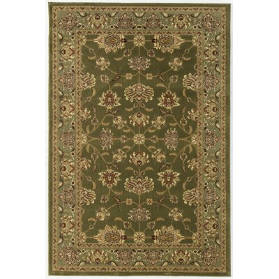 Gloucester Green Area Rug Rug Size: Rectangle 2 x 211