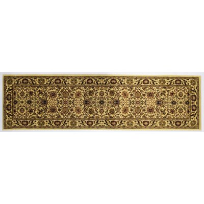 Gloucester Cream Area Rug Rug Size: Runner 23 x 71