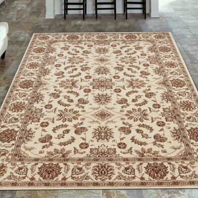 Westminster Ivory Area Rug Rug Size: Round 53