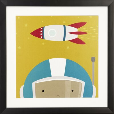 Peek A Boo Kids By Yuko Lau Framed Graphic Art