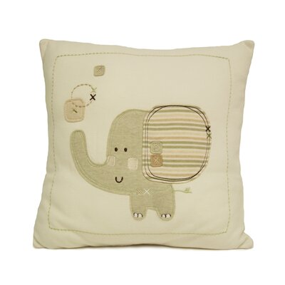 Sleepy Safari Decorative Pillow