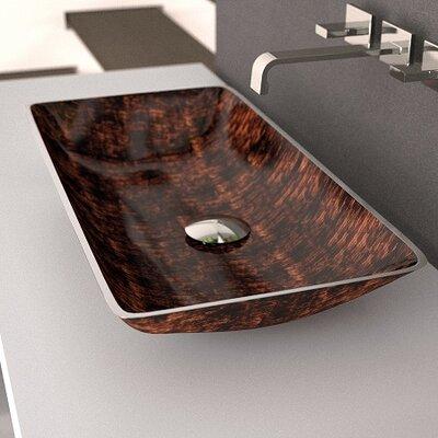 MaestroBath Nek Rectangular Sink - Sink Finish: Brown Black