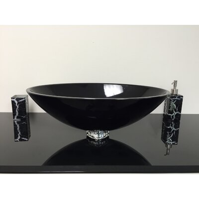 De Medici Oval Vessel Bathroom Sink