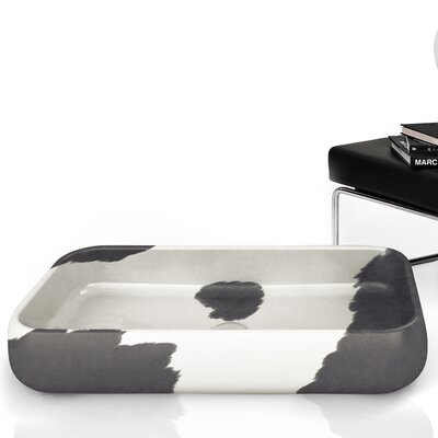 Moda Giungla Rectangular Vessel Bathroom Sink