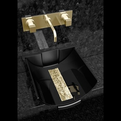 Calla Glass Specialty Vessel Bathroom Sink