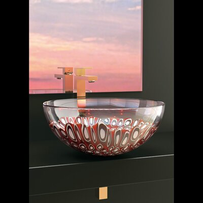Laguna Murano Circular Vessel Bathroom Sink