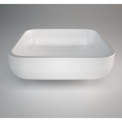 Jimmy Rectangular Vessel Bathroom Sink