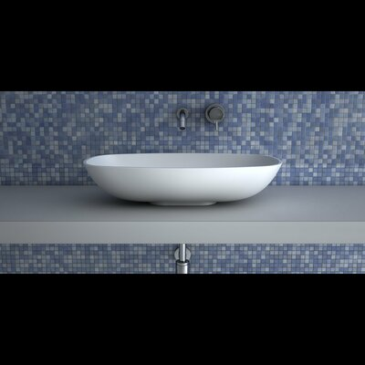 Gamma Rectangular Vessel Bathroom Sink