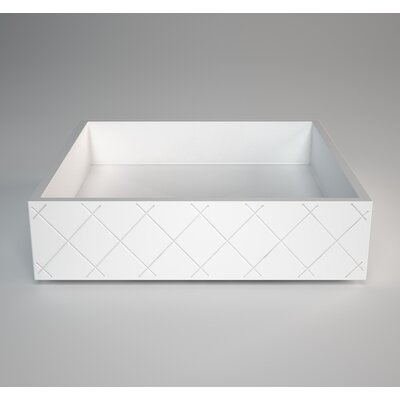 MX Square Vessel Bathroom Sink