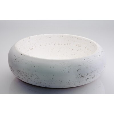 Klio Circular Vessel Bathroom Sink