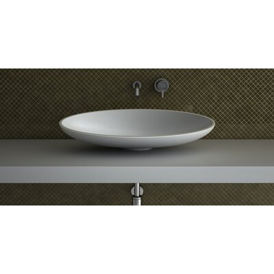 Kool Designer Oval Vessel Bathroom Sink