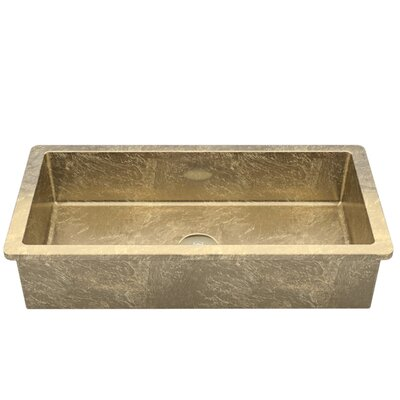 Vetro Freddo Glass Rectangular Vessel Bathroom Sink