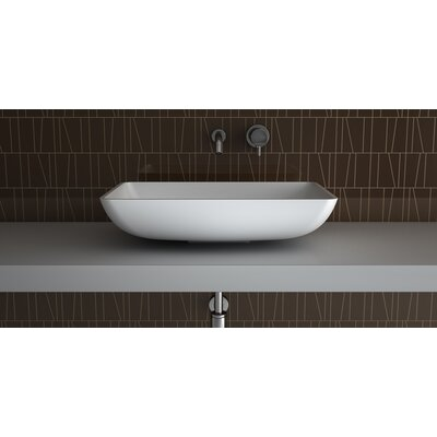 Net Elegant Rectangular Vessel Bathroom Sink