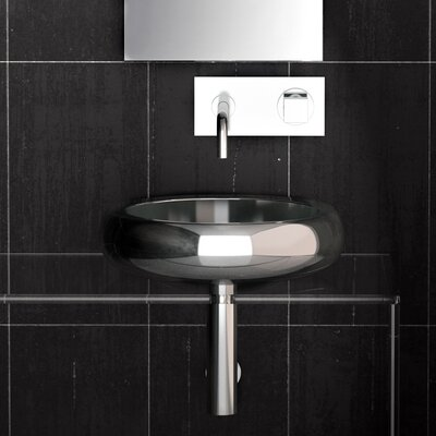 Zero Metal Circular Vessel Bathroom Sink Sink Finish: Rame Starlight