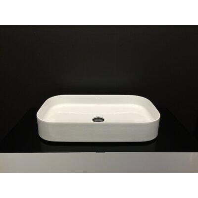 Ceramic Pure Circular Vessel Bathroom Sink