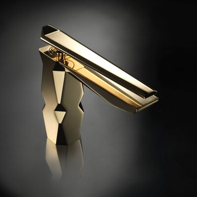 Ikon High End Single Handle Bathroom Faucet Finish: Polished Gold