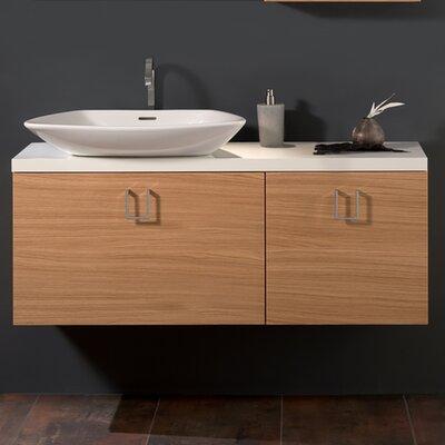 Veneer Luxurious Modern 51 Single Bathroom Vanity Base