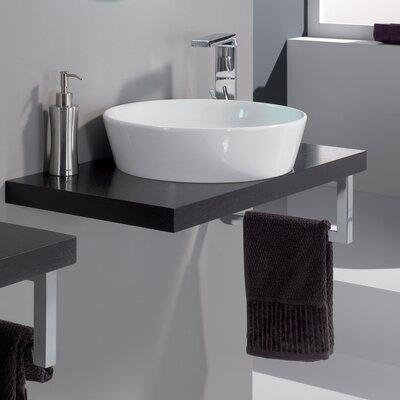 Veneered Wenge Sink Stand Modern 31.5 Single Bathroom Vanity Base