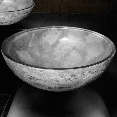 Atelier Circular Vessel Bathroom Sink Sink Finish: Gray