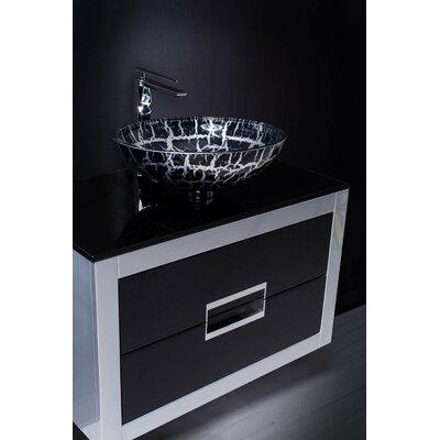 Danya 32 Bathroom Vanity Base Finish: Silver