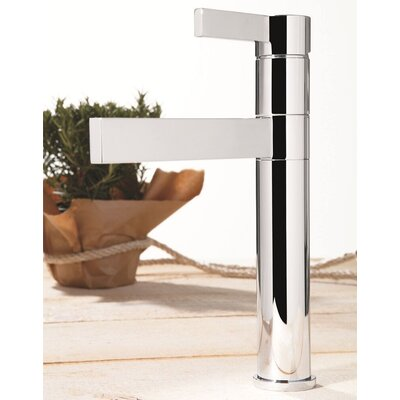 Caso Single Handle Deck Mounted Kitchen Faucet Finish: Chrome