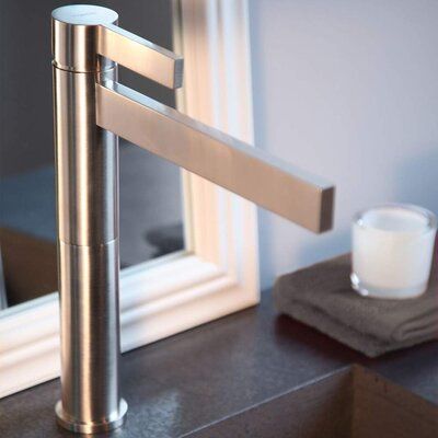 Caso Single Handle Single Hole Vessel Faucet Finish: Polished Nickel