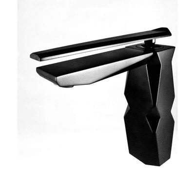 Ikon High End Single Handle Bathroom Faucet Finish: Black