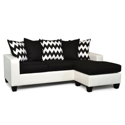 Latitude Run LTRN1105 27726117 Laurie Reversible Chaise Sectional Upholstery