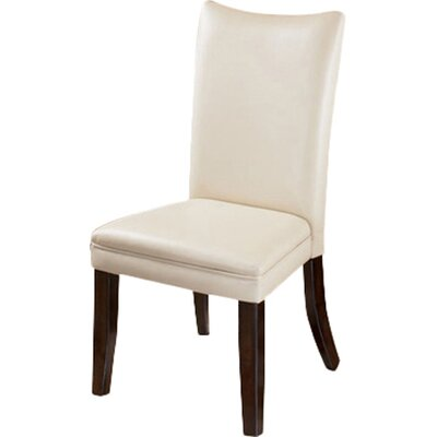 Laverne Parsons Chair (Set of 2) Upholstery: Ivory