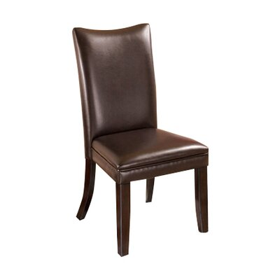 Laverne Parsons Chair (Set of 2) Upholstery: Medium Brown