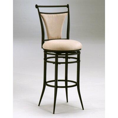 Ashley 26 inch Swivel Bar Stool Upholstery: Fawn