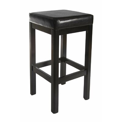 Medders 30 Bar Stool Finish: Black