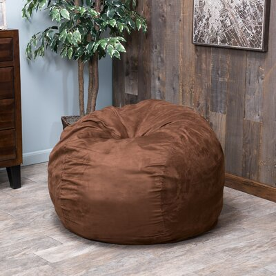 Bean Bag Chair Color: French Roast Brown