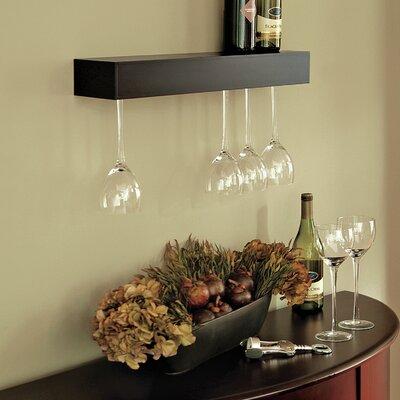 Bobnice 6 Bottle Wall Mounted Wine Rack