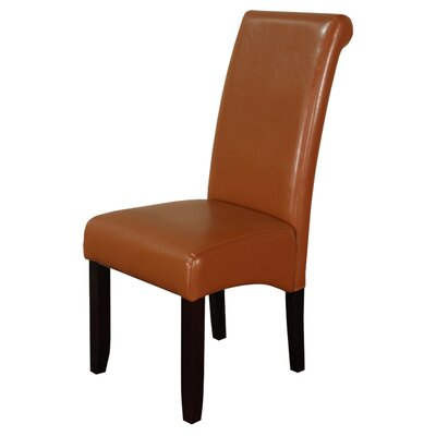 Darrell Parsons Chair Upholstery: Light Brown