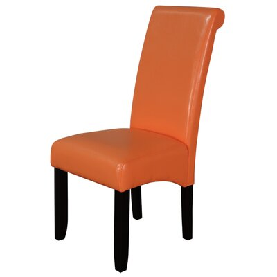 Darrell Parsons Chair Upholstery: Orange