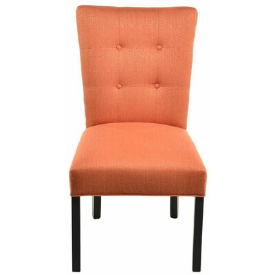 Parsons Chair Upholstery: Candice Pumpkin