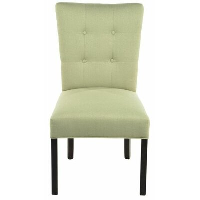 Parsons Chair Upholstery: Candice Sea Foam