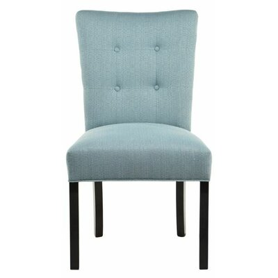 Parsons Chair Upholstery: Candice Bay Blue